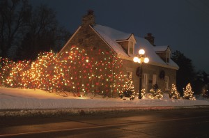 Christmas House Decorations Safety
